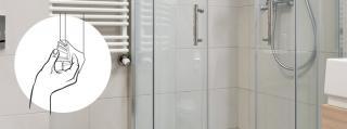 Remplacement du joint de la cabine de douche en 3 étapes