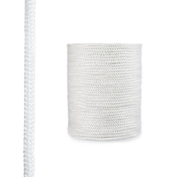 Steigner Corde de cheminée en fibre de verre SKD02 blanche 12 mm