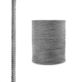 Corde de cheminée en fibre de verre SKD02 gris foncé 10 mm