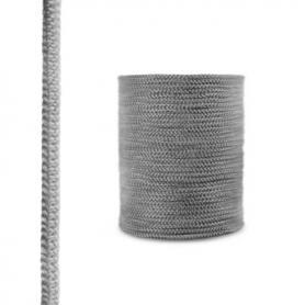 Corde de cheminée en fibre de verre SKD02 gris foncé 12 mm