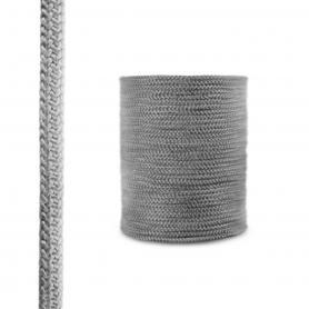 Corde de cheminée en fibre de verre SKD02 gris foncé 14 mm