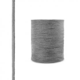 Corde de cheminée en fibre de verre SKD02 gris foncé 6 mm
