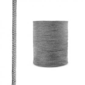 Corde de cheminée en fibre de verre SKD02 gris foncé 8 mm