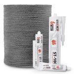 Corde de cheminée en fibre de verre SKD02 gris nr.2
