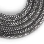 Corde de cheminée en fibre de verre SKD02 gris nr.3