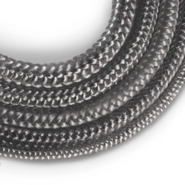 10 mm Scellant Gris Fonc/é R/ésistante /à la Temp/érature jusqu/à 550 /° C 10 m STEIGNER Corde en Fibre de Verre SKD02-10
