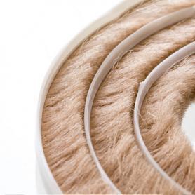 Joint de brosse 11-12mm beige