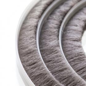 Joint de brosse 11-12mm gris