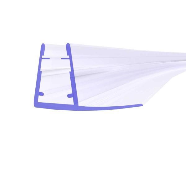 Steigner Joint de douche UK02 arrondi – courbé vers la vitre de l'épaisseur 6-8 mm
