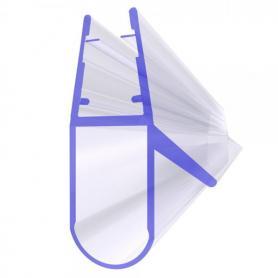 Joint de douche UK17 pour la vitre de l'épaisseur 6-8 mm