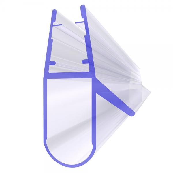 Steigner Joint de douche UK17 pour la vitre de l'épaisseur 6-8 mm