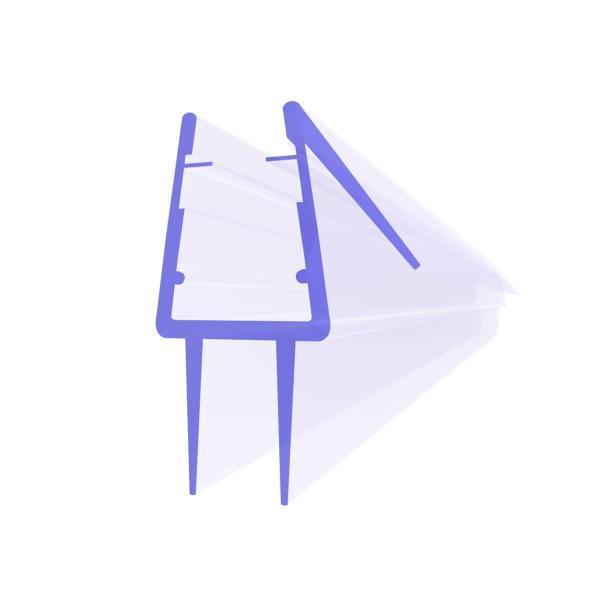 Steigner Joint de douche UK20-08 pour la vitre de l'épaisseur 8-9 mm