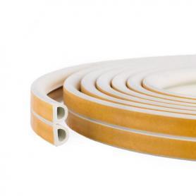 Joint en caoutchouc auto-adhésifs SD-54 blanc
