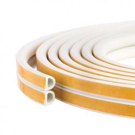 Joint en caoutchouc auto-adhésifs SD-55 blanc