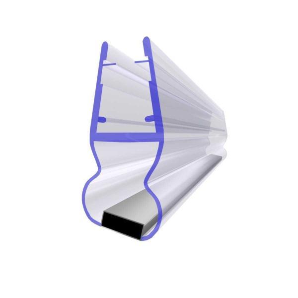 Steigner Joint de douche UKM05 magnétique pour les vitres de l'épaisseur 3,5-5 mm